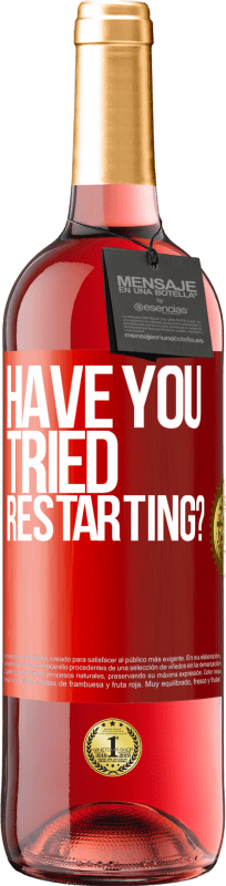 29,95 € Free Shipping   Rosé Wine ROSÉ Edition have you tried restarting? Red Label. Customizable label D.O. Cigales Young wine Harvest 2020 Spain Tempranillo