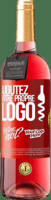 24,95 € Envoi gratuit | Vin rosé Édition ROSÉ Ajoutez votre propre logo Étiquette Rouge. Étiquette personnalisable Vin jeune Récolte 2020 Tempranillo
