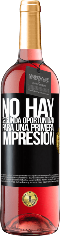 29,95 € Free Shipping | Rosé Wine ROSÉ Edition There is no second chance for a first impression Black Label. Customizable label Young wine Harvest 2020 Tempranillo
