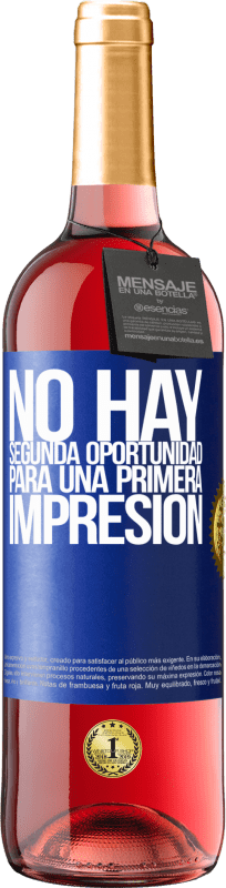 29,95 € Free Shipping | Rosé Wine ROSÉ Edition There is no second chance for a first impression Blue Label. Customizable label Young wine Harvest 2020 Tempranillo