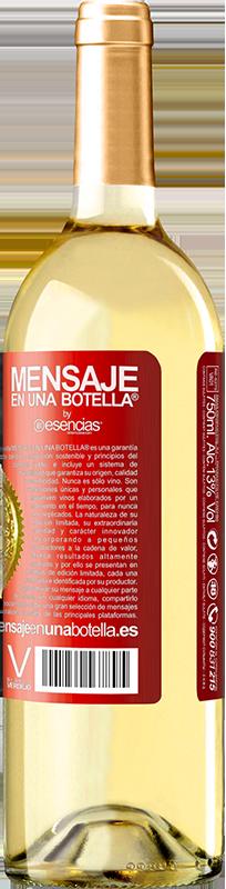 24,95 € Envoi gratuit   Vin blanc Édition WHITE Tu mérites un carton jaune pour le manque que tu me fais Étiquette Rouge. Étiquette personnalisable Vin jeune Récolte 2020 Verdejo