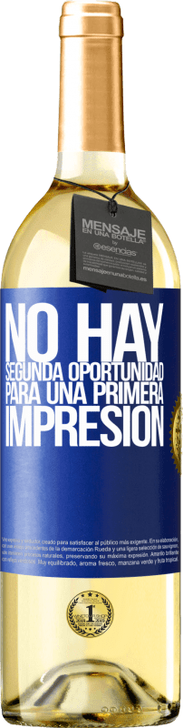 29,95 € Free Shipping | White Wine WHITE Edition There is no second chance for a first impression Blue Label. Customizable label Young wine Harvest 2020 Verdejo