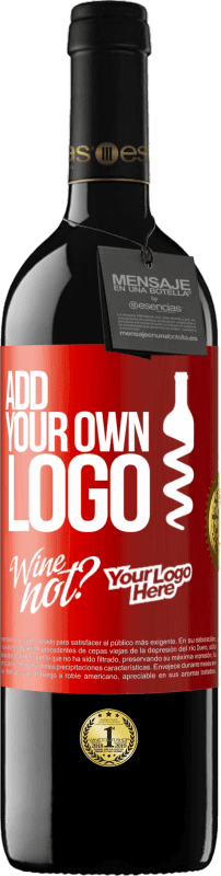24,95 € Free Shipping | Red Wine RED Edition Crianza 6 Months Add your own logo Red Label. Customizable label Aging in oak barrels 6 Months Harvest 2018 Tempranillo