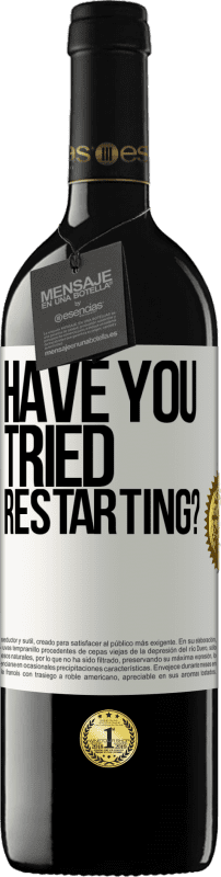 29,95 € Free Shipping   Red Wine RED Edition Crianza 6 Months have you tried restarting? White Label. Customizable label I.G.P. Vino de la Tierra de Castilla y León Aging in oak barrels 6 Months Harvest 2018 Spain Tempranillo