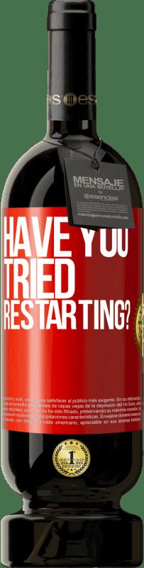 35,95 € Free Shipping   Red Wine Premium Edition MBS Reserva have you tried restarting? Red Label. Customizable label I.G.P. Vino de la Tierra de Castilla y León Aging in oak barrels 12 Months Harvest 2013 Spain Tempranillo