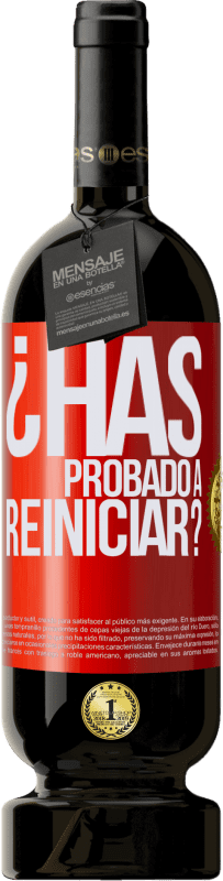 35,95 € Free Shipping | Red Wine Premium Edition MBS® Reserva have you tried restarting? Red Label. Customizable label Reserva 12 Months Harvest 2013 Tempranillo