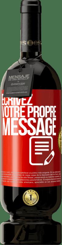 29,95 € Envoi gratuit | Vin rouge Édition Premium MBS® Reserva Écrivez votre propre message Étiquette Rouge. Étiquette personnalisable Reserva 12 Mois Récolte 2013 Tempranillo