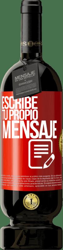 29,95 € Envío gratis   Vino Tinto Edición Premium MBS® Reserva Escribe tu propio mensaje Etiqueta Roja. Etiqueta personalizable Reserva 12 Meses Cosecha 2013 Tempranillo
