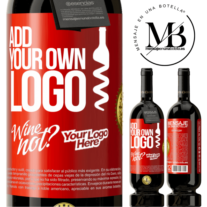 29,95 € Free Shipping | Red Wine Premium Edition MBS® Reserva Add your own logo Red Label. Customizable label Reserva 12 Months Harvest 2013 Tempranillo