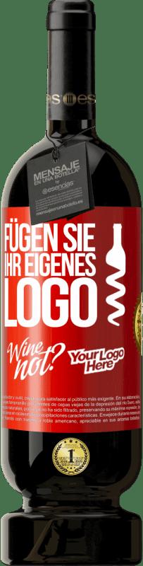29,95 € Kostenloser Versand | Rotwein Premium Edition MBS® Reserva Fügen Sie Ihr eigenes Logo Rote Markierung. Anpassbares Etikett Reserva 12 Monate Ernte 2013 Tempranillo