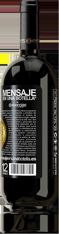 29,95 € Envoi gratuit   Vin rouge Édition Premium MBS® Reserva Si je dois te demander, je n'en veux plus Étiquette Noire. Étiquette personnalisable Reserva 12 Mois Récolte 2013 Tempranillo