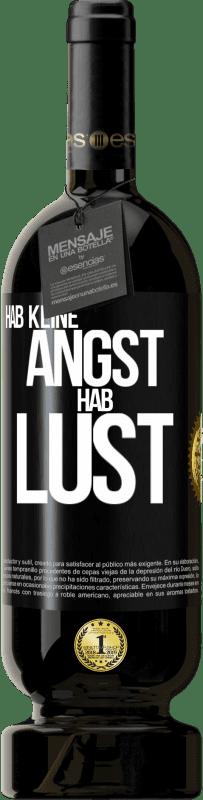 29,95 € Kostenloser Versand | Rotwein Premium Ausgabe MBS® Reserva Hab keine Angst. Fühlen Sie sich wie Schwarzes Etikett. Anpassbares Etikett Reserva 12 Monate Ernte 2013 Tempranillo