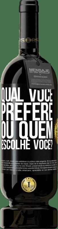 29,95 € Envio grátis   Vinho tinto Edição Premium MBS® Reserva qual você prefere, ou quem escolhe você? Etiqueta Preta. Etiqueta personalizável Reserva 12 Meses Colheita 2013 Tempranillo