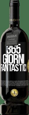 29,95 € Spedizione Gratuita | Vino rosso Edizione Premium MBS® Reserva 365 giorni fantastici Etichetta Nera. Etichetta personalizzabile Reserva 12 Mesi Raccogliere 2013 Tempranillo