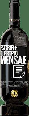 29,95 € Envío gratis   Vino Tinto Edición Premium MBS® Reserva Escribe tu propio mensaje Etiqueta Negra. Etiqueta personalizable Reserva 12 Meses Cosecha 2013 Tempranillo