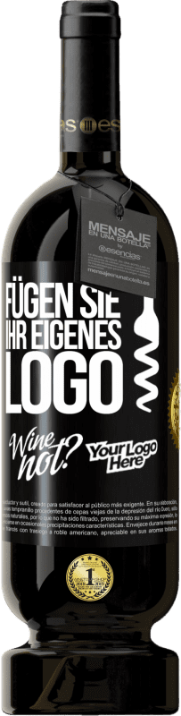 29,95 € Kostenloser Versand | Rotwein Premium Edition MBS® Reserva Fügen Sie Ihr eigenes Logo Schwarzes Etikett. Anpassbares Etikett Reserva 12 Monate Ernte 2013 Tempranillo