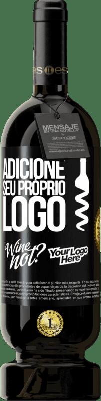 29,95 € Envio grátis   Vinho tinto Edição Premium MBS® Reserva Adicione seu próprio logo Etiqueta Preta. Etiqueta personalizável Reserva 12 Meses Colheita 2013 Tempranillo