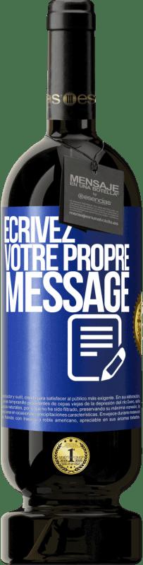 29,95 € Envoi gratuit | Vin rouge Édition Premium MBS® Reserva Écrivez votre propre message Étiquette Bleue. Étiquette personnalisable Reserva 12 Mois Récolte 2013 Tempranillo