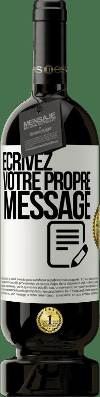 29,95 € Envoi gratuit | Vin rouge Édition Premium MBS® Reserva Écrivez votre propre message Étiquette Blanche. Étiquette personnalisable Reserva 12 Mois Récolte 2013 Tempranillo