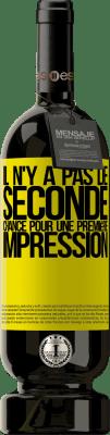 29,95 € Envoi gratuit | Vin rouge Édition Premium MBS® Reserva Il n'y a pas de seconde chance pour une première impression Étiquette Jaune. Étiquette personnalisable Reserva 12 Mois Récolte 2013 Tempranillo