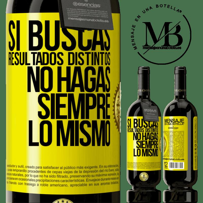 29,95 € Envoi gratuit   Vin rouge Édition Premium MBS® Reserva Si vous recherchez des résultats différents, ne faites pas toujours la même chose Étiquette Jaune. Étiquette personnalisable Reserva 12 Mois Récolte 2013 Tempranillo