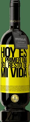 29,95 € Envío gratis   Vino Tinto Edición Premium MBS® Reserva Hoy es el primer día del resto de mi vida Etiqueta Amarilla. Etiqueta personalizable Reserva 12 Meses Cosecha 2013 Tempranillo