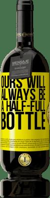 24,95 € Free Shipping | Red Wine Premium Edition RED MBS Ours will always be a half-full bottle Yellow Label. Customized label I.G.P. Vino de la Tierra de Castilla y León Aging in oak barrels 12 Months Harvest 2016 Spain Tempranillo