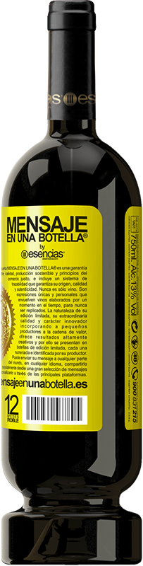 29,95 € Free Shipping | Red Wine Premium Edition MBS® Reserva Do not be afraid. Feel like Yellow Label. Customizable label Reserva 12 Months Harvest 2013 Tempranillo