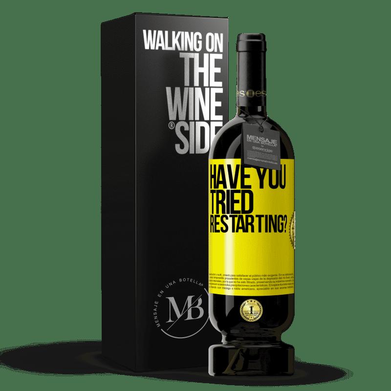 35,95 € Free Shipping   Red Wine Premium Edition MBS Reserva have you tried restarting? Yellow Label. Customizable label I.G.P. Vino de la Tierra de Castilla y León Aging in oak barrels 12 Months Harvest 2013 Spain Tempranillo