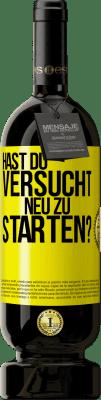 35,95 € Kostenloser Versand | Rotwein Premium Edition MBS Reserva haben Sie versucht, neu zu starten? Gelbes Etikett. Anpassbares Etikett I.G.P. Vino de la Tierra de Castilla y León Ausbau in Eichenfässern 12 Monate Ernte 2013 Spanien Tempranillo