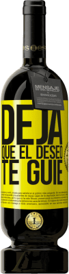 29,95 € Envío gratis   Vino Tinto Edición Premium MBS® Reserva Deja que el deseo te guíe Etiqueta Amarilla. Etiqueta personalizable Reserva 12 Meses Cosecha 2013 Tempranillo