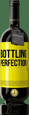 35,95 € Free Shipping | Red Wine Premium Edition MBS Reserva Bottling perfection Yellow Label. Customizable label I.G.P. Vino de la Tierra de Castilla y León Aging in oak barrels 12 Months Harvest 2013 Spain Tempranillo