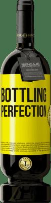 29,95 € Kostenloser Versand | Rotwein Premium Edition MBS® Reserva Bottling perfection Gelbes Etikett. Anpassbares Etikett Reserva 12 Monate Ernte 2013 Tempranillo