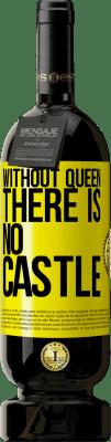 35,95 € Free Shipping | Red Wine Premium Edition MBS Reserva Without queen, there is no castle Yellow Label. Customizable label I.G.P. Vino de la Tierra de Castilla y León Aging in oak barrels 12 Months Harvest 2013 Spain Tempranillo