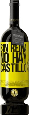 29,95 € Envío gratis   Vino Tinto Edición Premium MBS® Reserva Sin reina, no hay castillo Etiqueta Amarilla. Etiqueta personalizable Reserva 12 Meses Cosecha 2013 Tempranillo