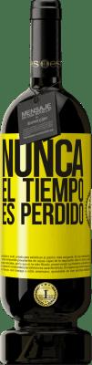 29,95 € Envío gratis   Vino Tinto Edición Premium MBS® Reserva Nunca el tiempo es perdido Etiqueta Amarilla. Etiqueta personalizable Reserva 12 Meses Cosecha 2013 Tempranillo