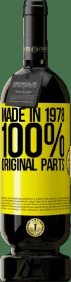 24,95 € Free Shipping   Red Wine Premium Edition RED MBS Made in 1978. 100% original parts Yellow Label. Customized label I.G.P. Vino de la Tierra de Castilla y León Aging in oak barrels 12 Months Harvest 2016 Spain Tempranillo