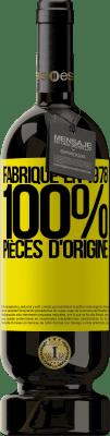 24,95 € Envoi gratuit | Vin rouge Édition Premium RED MBS Fabriqué en 1978. 100% pièces d'origine Étiquette Jaune. Étiquette personnalisée I.G.P. Vino de la Tierra de Castilla y León Vieillissement en fûts de chêne 12 Mois Récolte 2016 Espagne Tempranillo