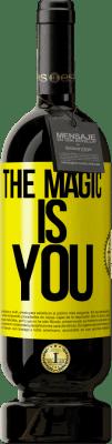 24,95 € Free Shipping | Red Wine Premium Edition RED MBS The magic is you Yellow Label. Customized label I.G.P. Vino de la Tierra de Castilla y León Aging in oak barrels 12 Months Spain Tempranillo