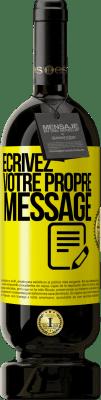 29,95 € Envoi gratuit | Vin rouge Édition Premium MBS® Reserva Écrivez votre propre message Étiquette Jaune. Étiquette personnalisable Reserva 12 Mois Récolte 2013 Tempranillo