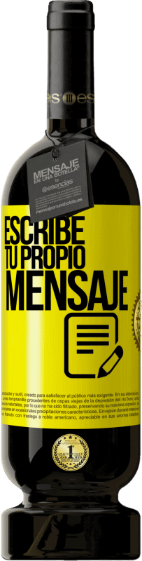 35,95 € Free Shipping   Red Wine Premium Edition MBS® Reserva Write your own message Yellow Label. Customizable label Reserva 12 Months Harvest 2013 Tempranillo