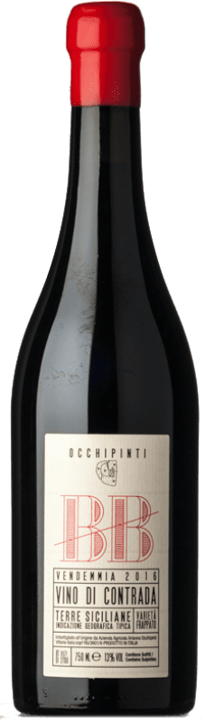 49,95 € Free Shipping | Red wine Arianna Occhipinti BB I.G.T. Terre Siciliane Sicily Italy Frappato Bottle 75 cl