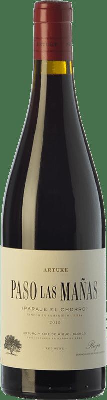 23,95 € Free Shipping | Red wine Artuke Paso Las Mañas Crianza D.O.Ca. Rioja The Rioja Spain Tempranillo Bottle 75 cl