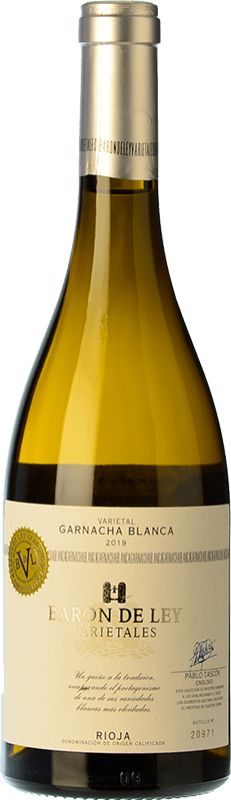 13,95 € Free Shipping   White wine Barón de Ley Varietales D.O.Ca. Rioja The Rioja Spain Grenache White Bottle 75 cl