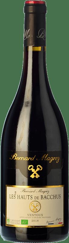12,95 € Free Shipping   Red wine Bernard Magrez Les Hauts de Bacchus Roble A.O.C. Côtes du Ventoux Rhône France Syrah, Grenache, Carignan, Mourvèdre, Cinsault Bottle 75 cl