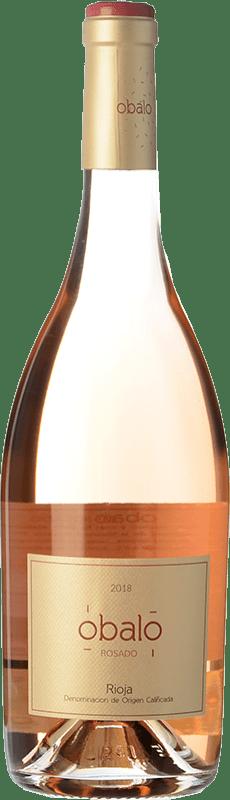 7,95 € Free Shipping | Rosé wine Obalo Rosado D.O.Ca. Rioja The Rioja Spain Tempranillo Bottle 75 cl