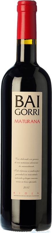 32,95 € Free Shipping   Red wine Baigorri Crianza D.O.Ca. Rioja The Rioja Spain Maturana Tinta Bottle 75 cl