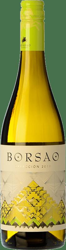 5,95 € Free Shipping   White wine Borsao Blanco Selección Crianza D.O. Campo de Borja Spain Macabeo, Chardonnay Bottle 75 cl