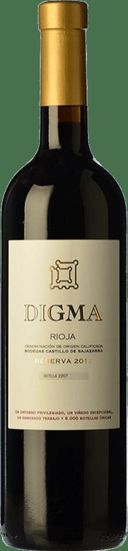 41,95 € Free Shipping | Red wine Castillo de Sajazarra Digma Reserva D.O.Ca. Rioja The Rioja Spain Tempranillo Bottle 75 cl