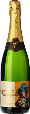 9,95 € Free Shipping | White sparkling Faustino Art Collection Brut Reserva D.O. Cava Spain Macabeo, Chardonnay Bottle 75 cl